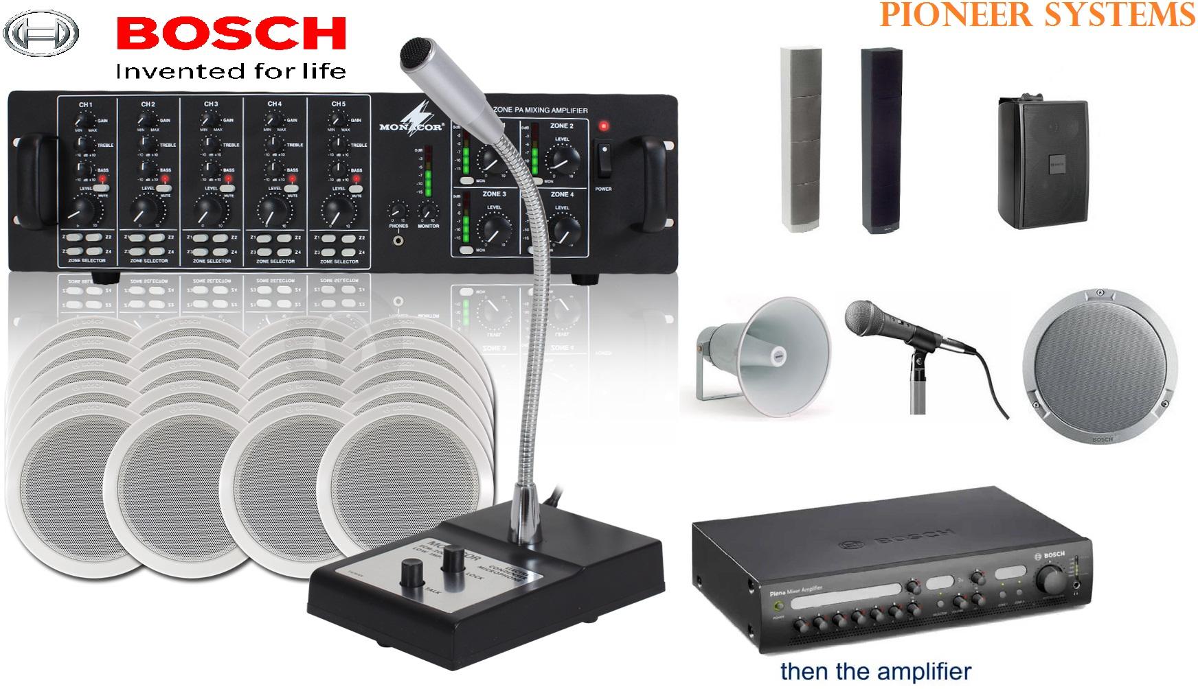 Bosch Pa Public Address System Supplier Company Price