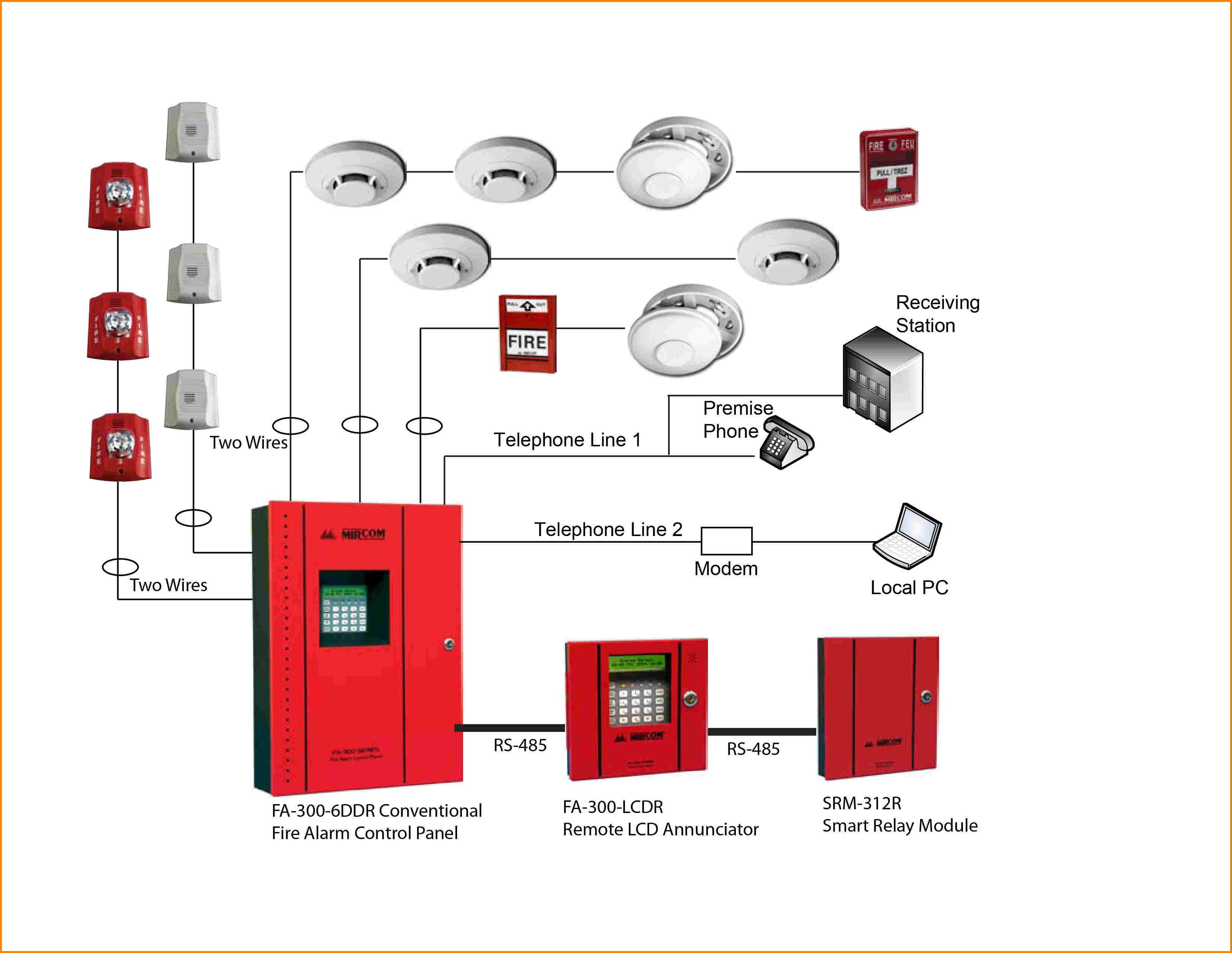 Ul Listed Addressable Fire Alarm System Supplier Company  Price Bangladesh  Service Provider Bd